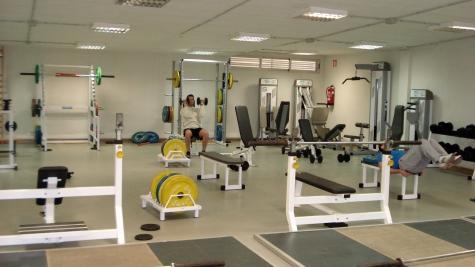 Sala de musculación.
