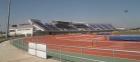 El Centro Aragonés del Deporte renueva el pavimento de su pista de atletismo