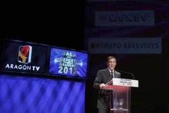 Alberto Belsúe, premio de honor Deportista Legendario en la Gala del Deporte 2012