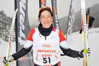 Yolanda Magallón al Cto. de Europa de Triatlón de Invierno