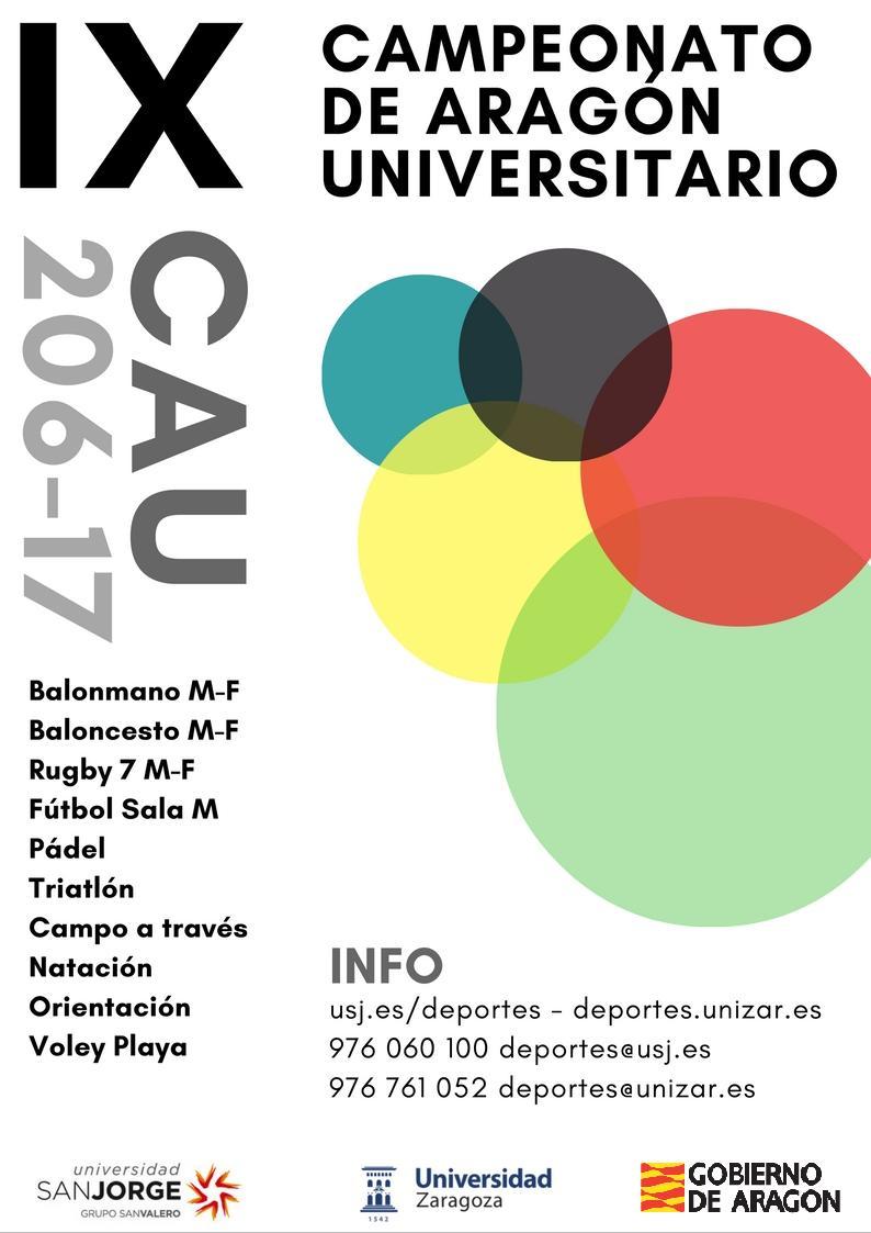 Comienzo IX CAU 2016-2017