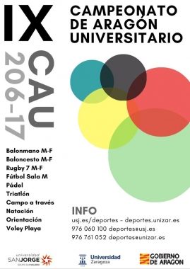 IX CAMP. ARAGON UNIVERSITARIO
