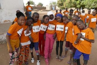 III Carrera de los niños de África 2018