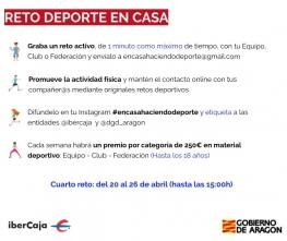 Reto #encasahaciendodeporte