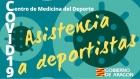 Asistencia a Deportistas desde el Centro de Medicina del Deporte: COVID19