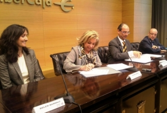 Gobierno de Aragón e Ibercaja impulsan los Juegos Deportivos en Edad Escolar